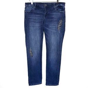 KUT from the Kloth Catherine Boyfriend Jeans - 10